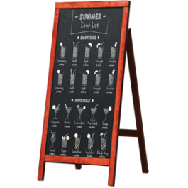 Chalkboard Stand Tall Background rack