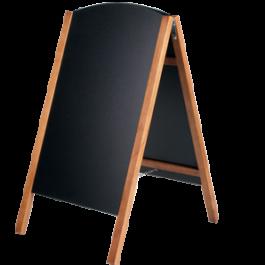 Chalkboard die cut side frame
