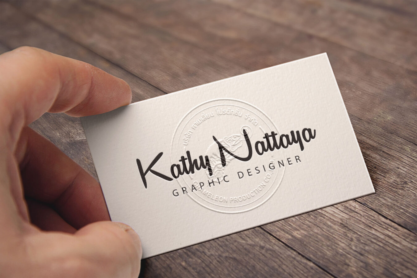 Graphic design, business card, koh samui, thailand