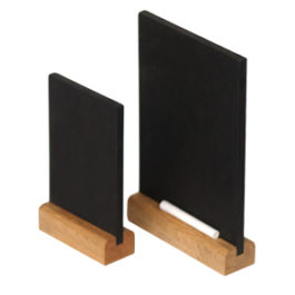 stand table chalkboard