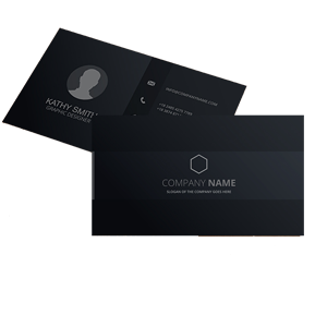 buy black business card chameleon production online shop