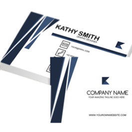 standard business cards. Kathy nattaya. Best graphic designer in koh samui, thailand