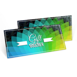 voucher gift card printing design chameleon production koh samui thailand