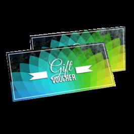 voucher gift card printing design chameleon production koh samui thailand