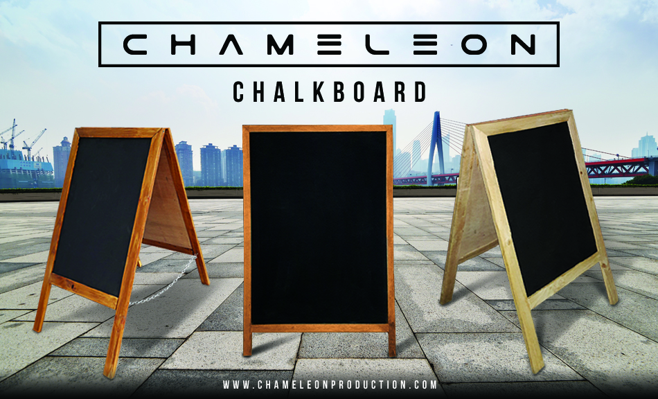 blackboard stand promotion