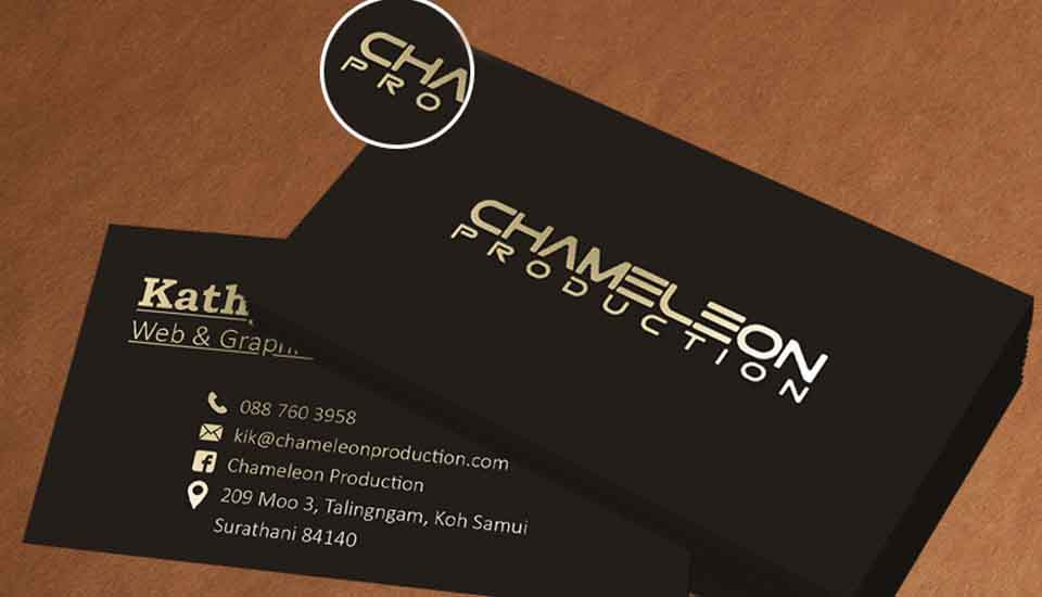 business card advertising koh samui thailand