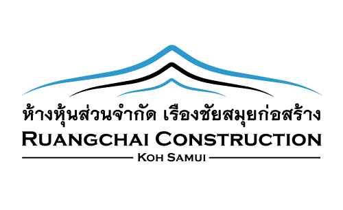 Logo design Ruangchai Samui Construction