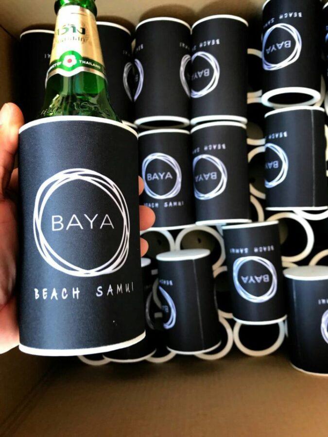 big bottle cooler order for baya beach bar in Koh Samui, Thailand