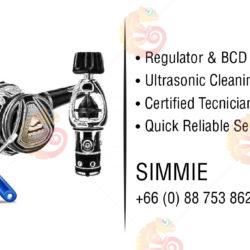 Scuba pro regulator, ultrasonic, certified tecnician