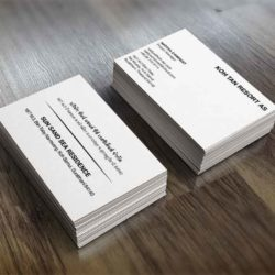 Sea Sand Sun Residence Conqueror Business Card Two Sided