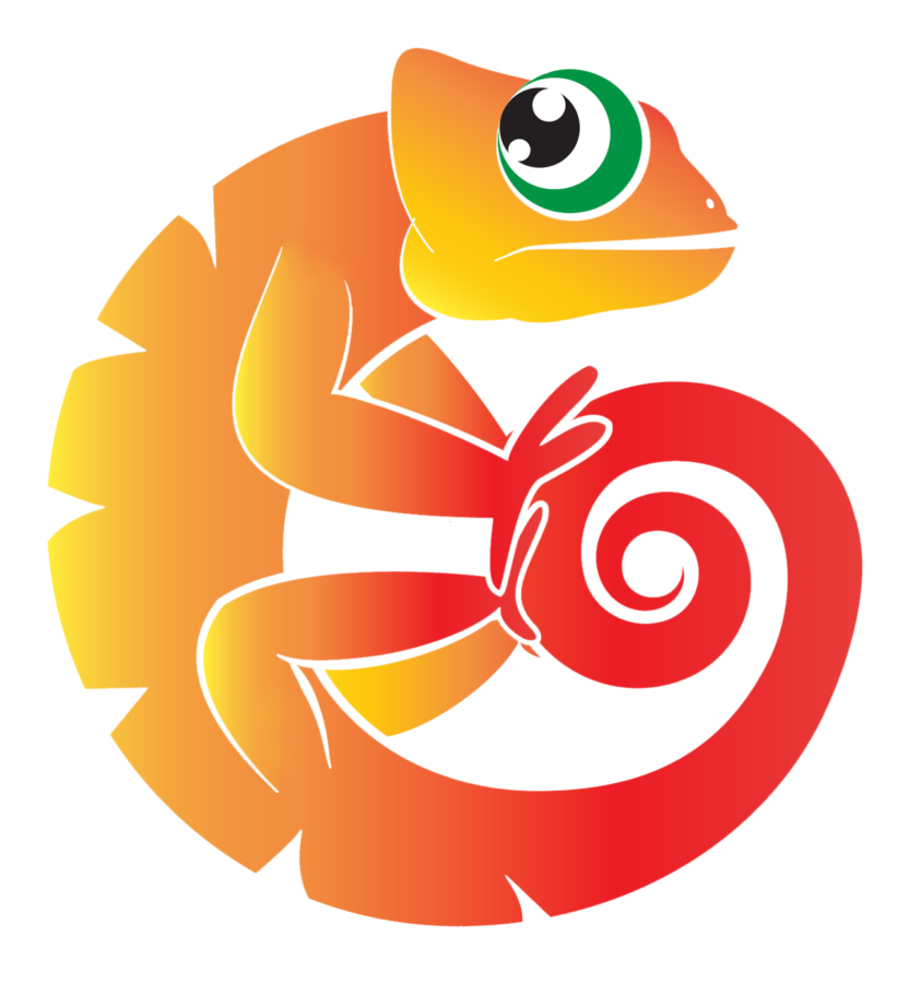 chameleon production logo