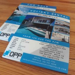 Sell and rent backlit film set printed